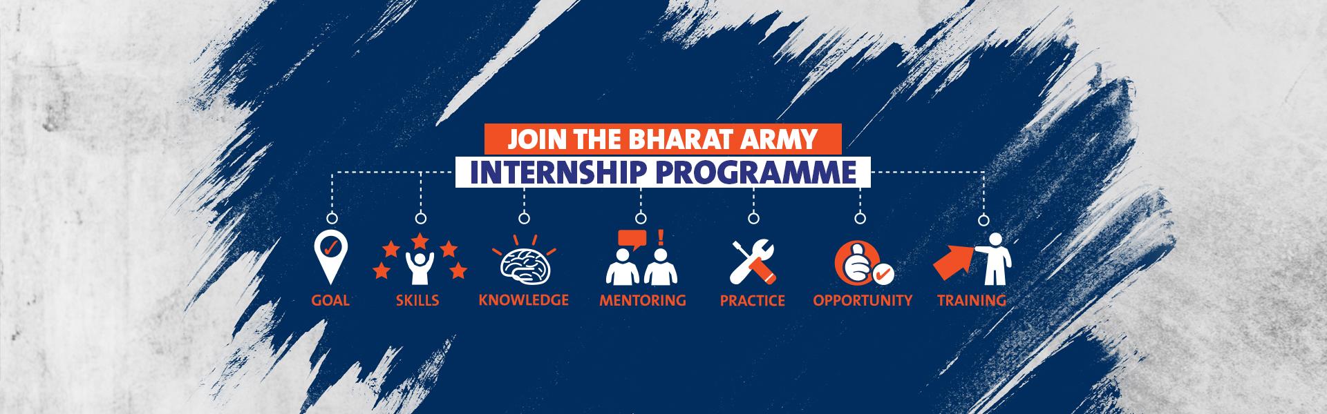 The Bharat Army Internship Programme