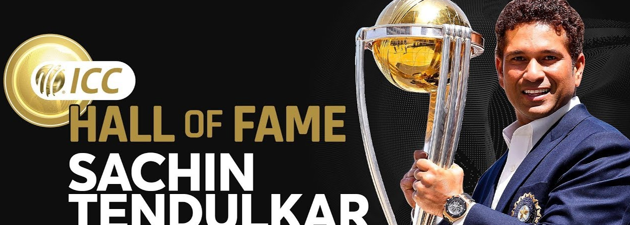 SRT Becomes 6th Indian to be Inducted in ICC Hall of Fame