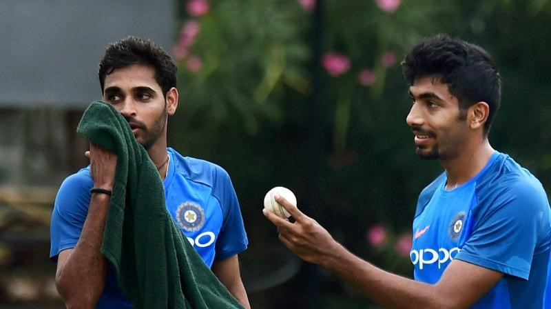 bhuvneshwar and bumrah