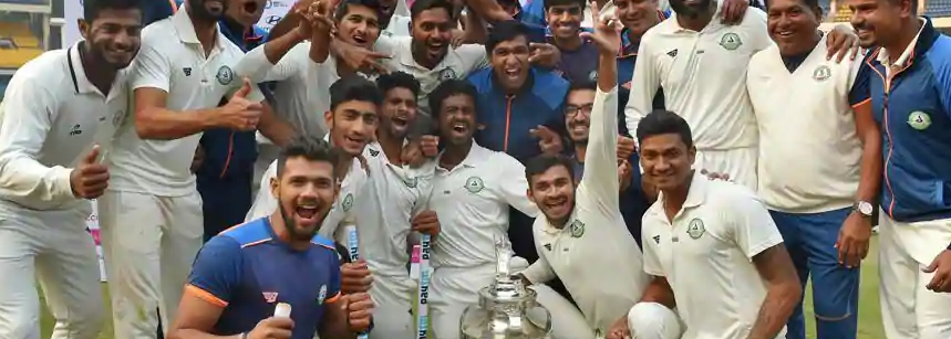 Brilliant Sarwate helps Vidarbha retain Ranji Trophy title
