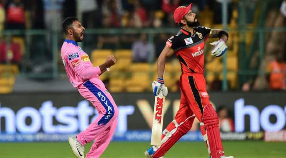 Rajasthan Royals and the Royal Challengers Bangalore