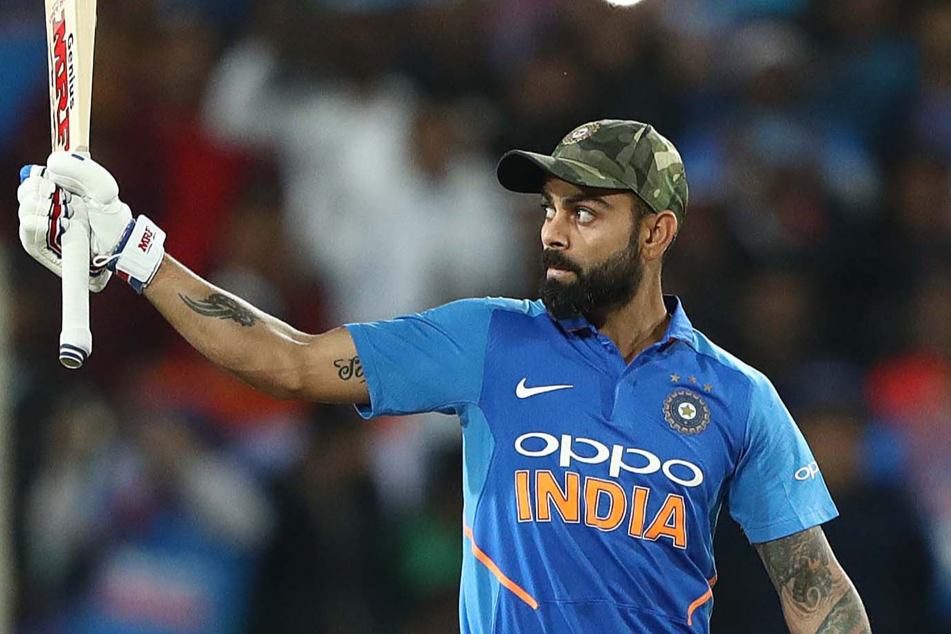 Kohli brilliance in vain as Australia beat India at Ranchi
