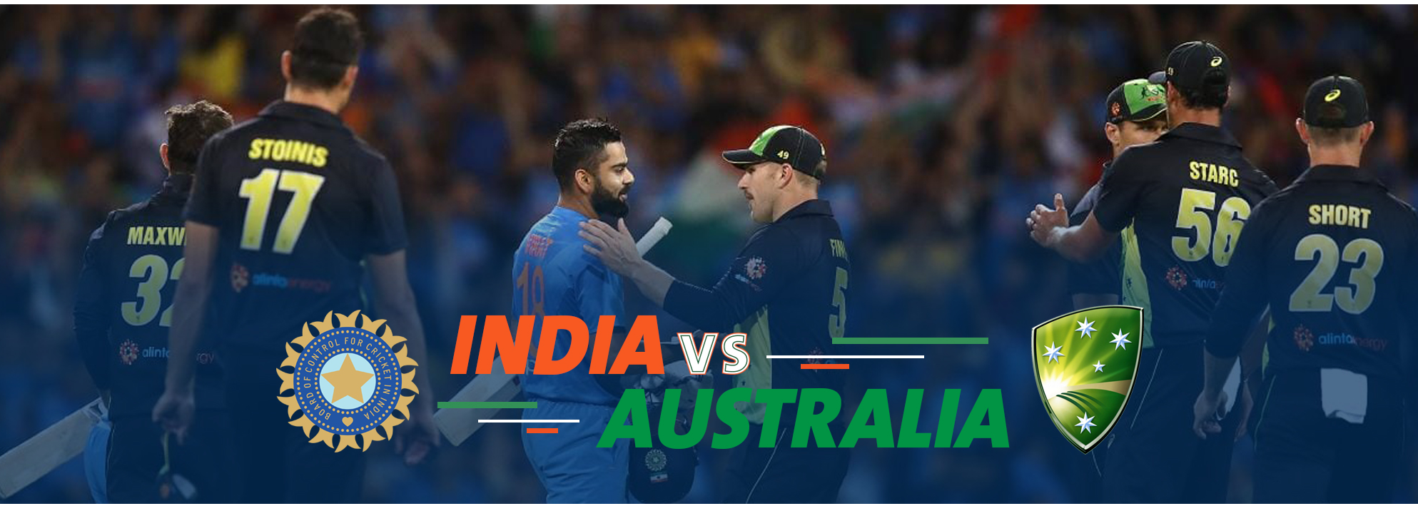 Australia tour of India 2019 Schedule, Teams & Venues