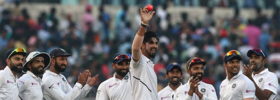 IND v BAN: Team India win the historic Pink Ball Test match
