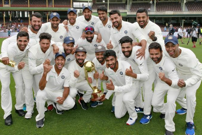 Three Indian captain to win Test series in a SENA country