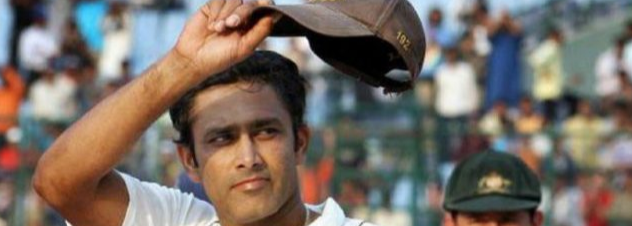 On This Day:- Kumble scales Mount 600 in Test Cricket