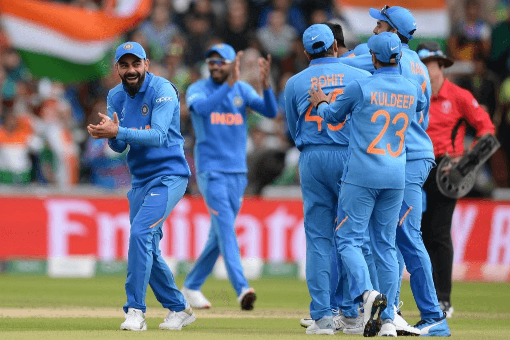 India face a nervous-looking Afghanistan side