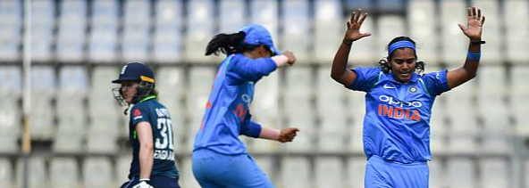 Bisht 4-fer leads India to a 66-run win