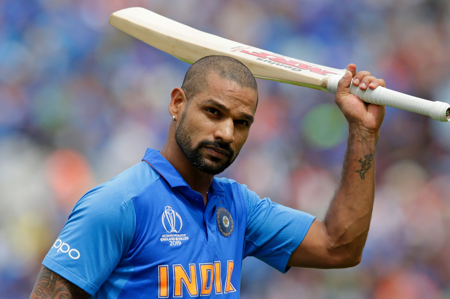 CWC'19- Dhawan ruled out of the World Cup