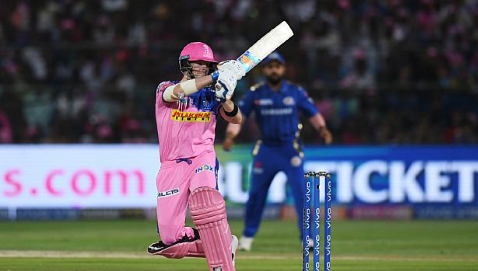 Steve Smith of Rajasthan Royals