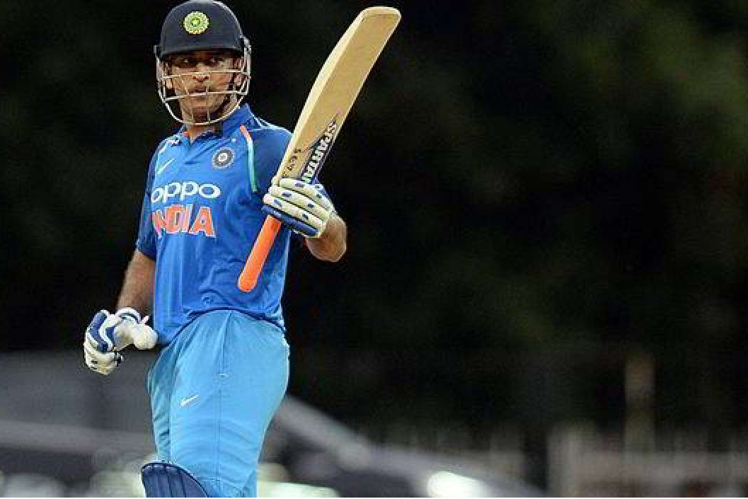 MS Dhoni hits his 10,000th ODI run for India