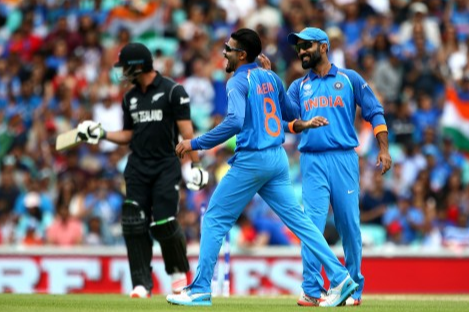 Team India battle against a dominant Kiwi Side