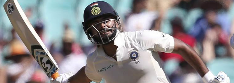 Pant named in India A squad against England Lions