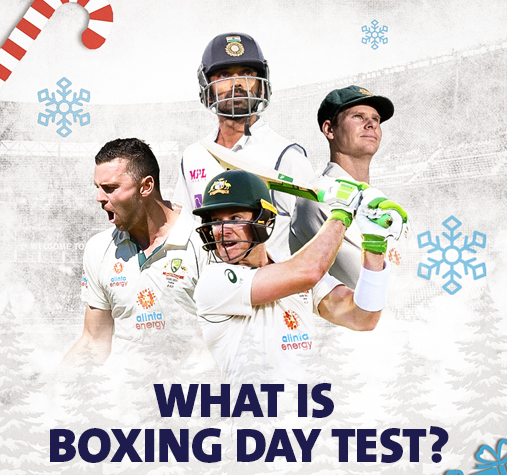 What is the Boxing Day Test match?