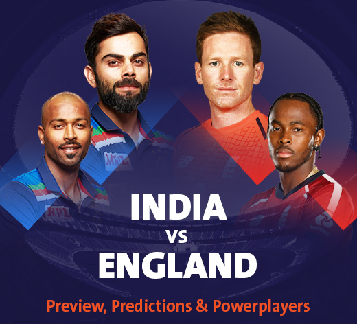 India vs England: Preview, Predictions and Poweplayers