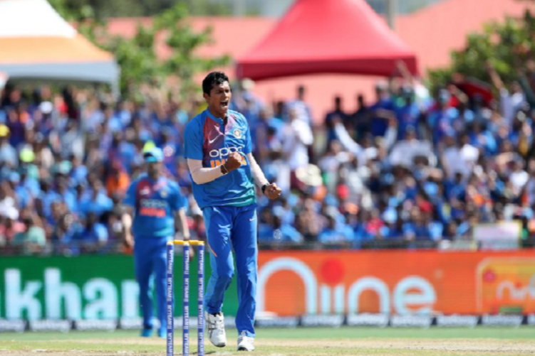 WI v IND: Saini, bowlers guide India to a four-wicket win