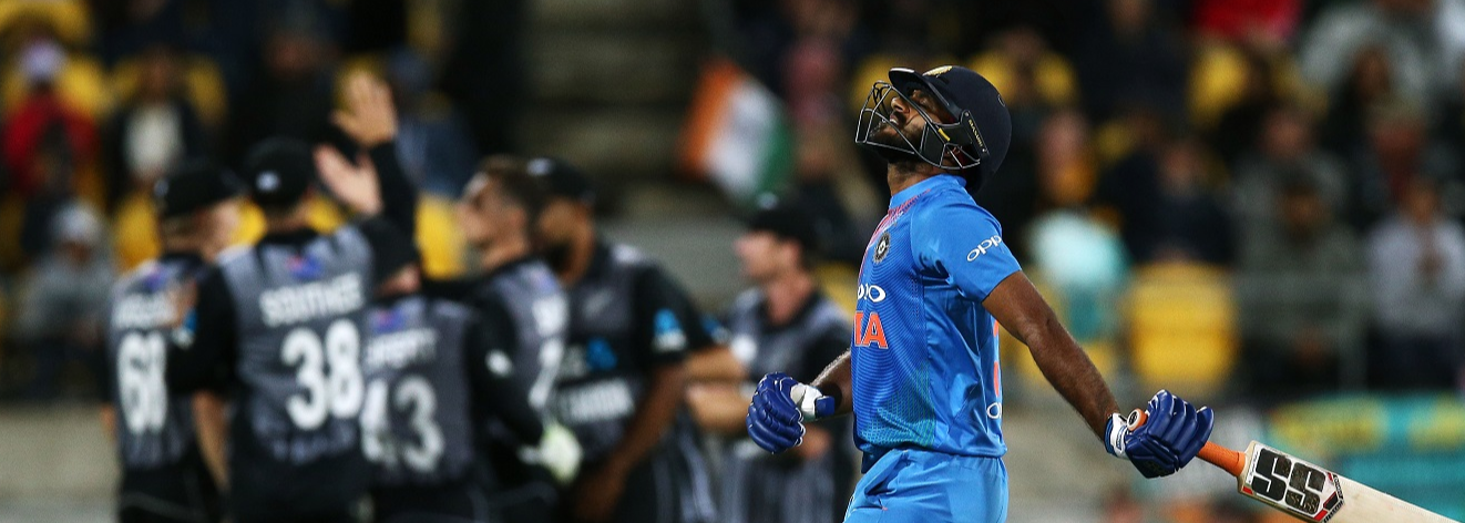 All the numbers from India's loss at Wellington