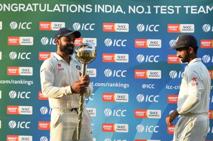 Team India retain ICC Test mace for the third year running