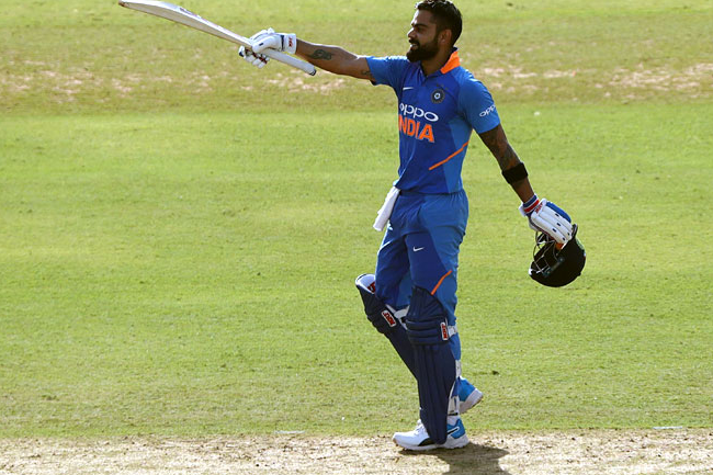 Kohli, Shankar lead India to their 500th ODI win