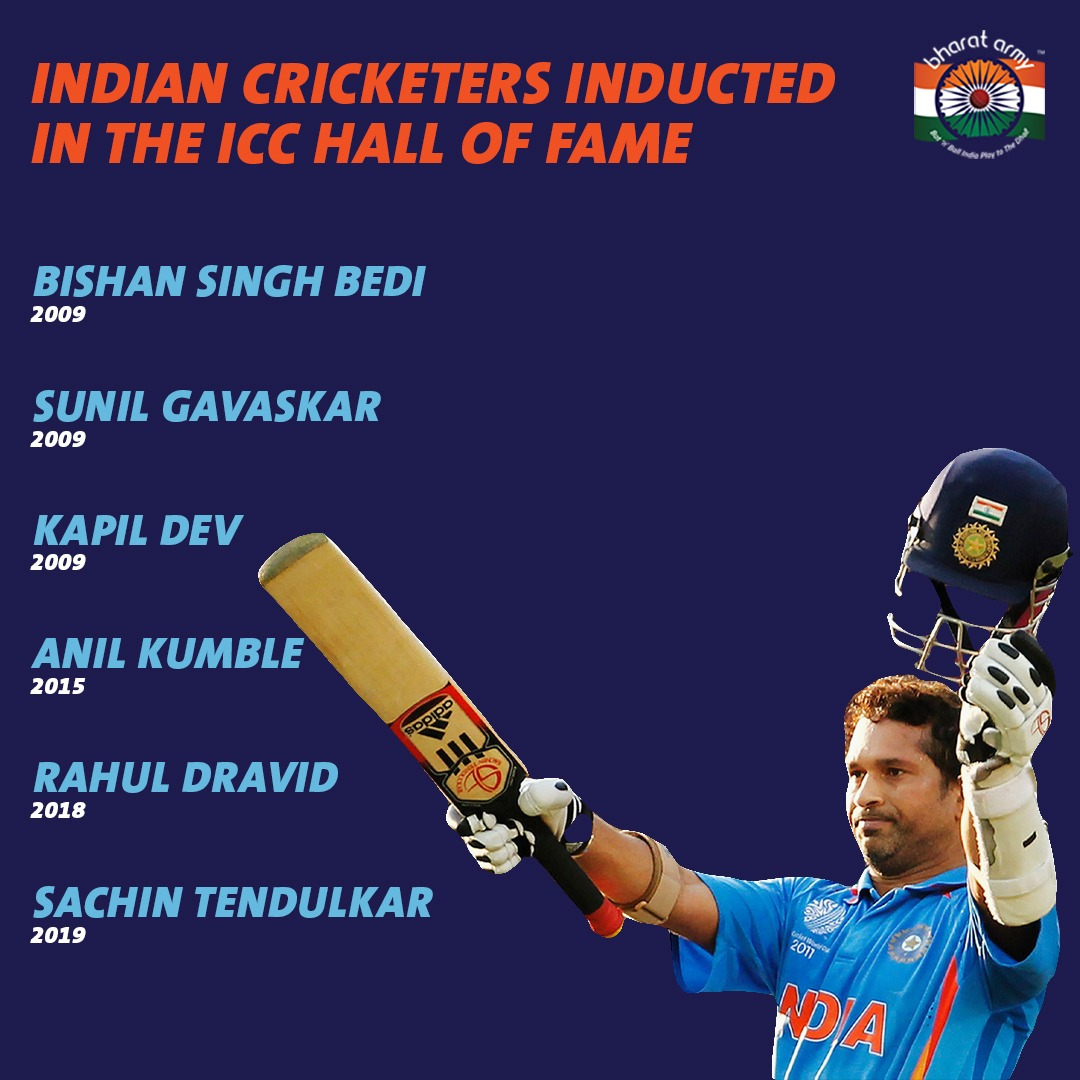 indian cricketers in Hall of Fame